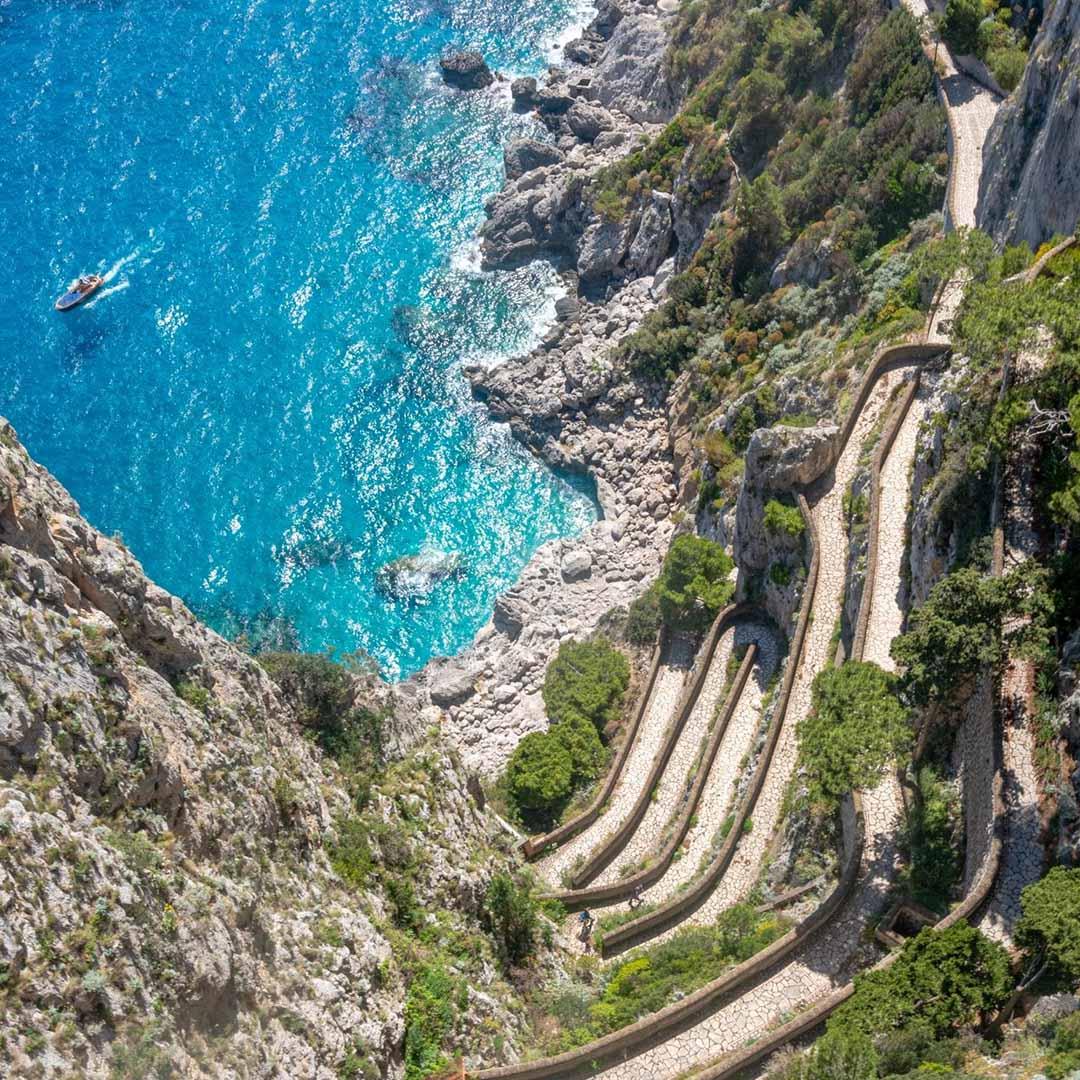 Minicrociera guidata di Capri e Anacapri da Sorrento