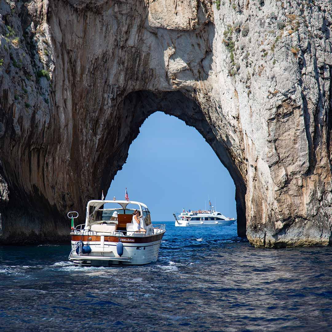 Tour dell'Isola di Capri da Sorrento con gozzo sorrentino