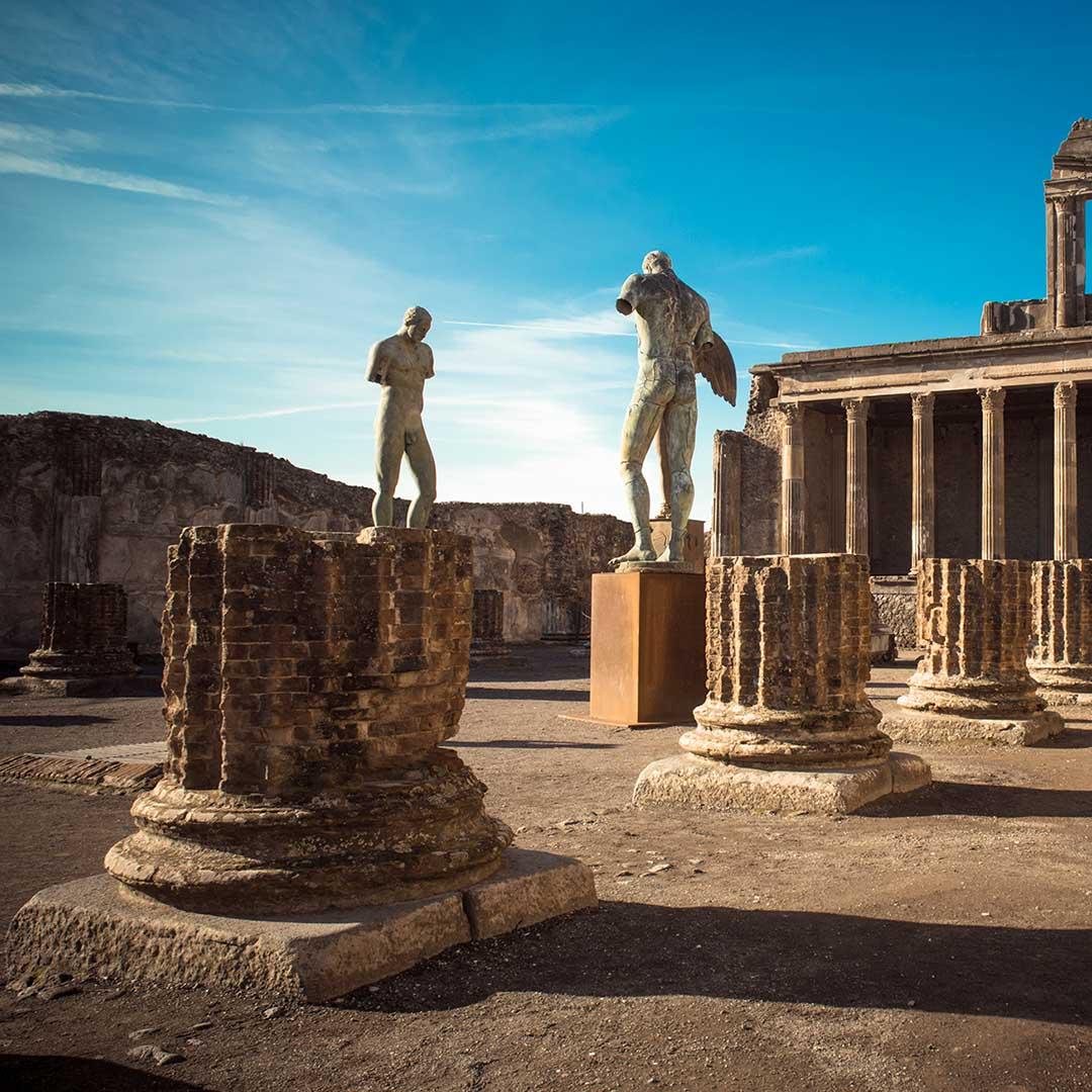 Tour di Pompei con guida ufficiale e biglietti Skip The Line da Sorrento