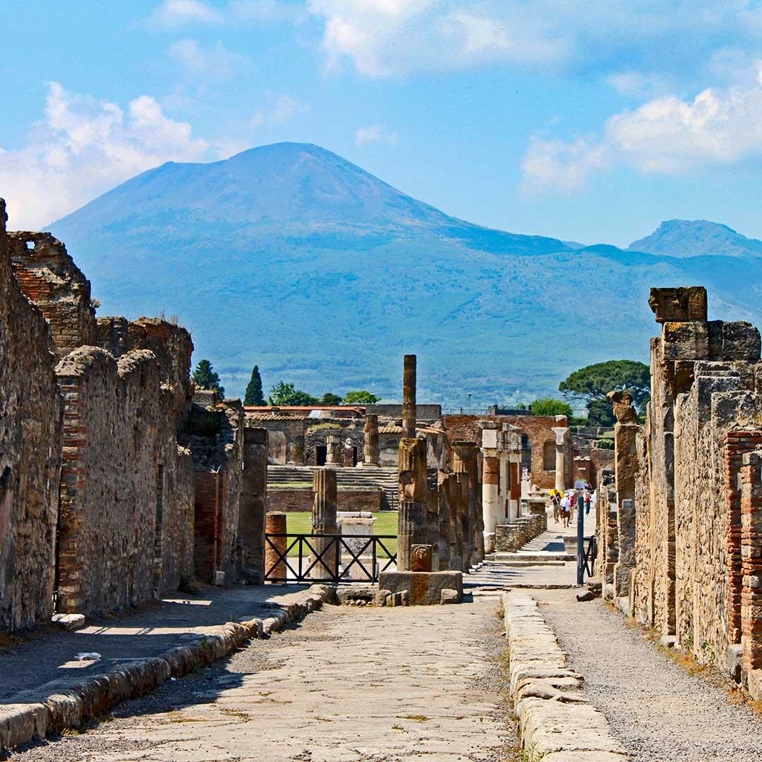 Tour guidato di Pompei e il Monte Vesuvio da Sorrento